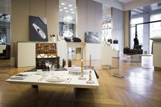 Images from last week's Aston Martin Art of Living Exhibition at Milan Design week - showcasing the touch and elegance of Aston Martin across a selection of lifestyle products