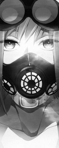 31 Best Anime Girls Gas Masks Images Anime Anime Art