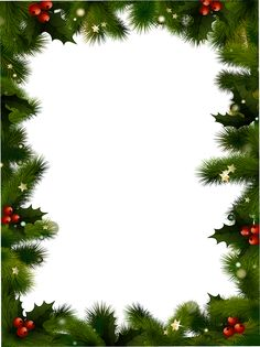 Marcos navideños en png   Arte digital