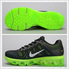 outlet store cb0d2 30dbb tienda de deportes Nike Air Max Tailwind 7 Mesh Negro Fluorescent Verde  683635-003 Mujeres