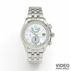Citizen Watch - Women's Eco-Drive Stainless Steel Atomic - FC0000-59D
