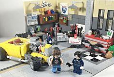 Lego Garage Hot Rod