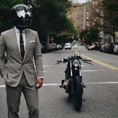 The Suited Racer  #motorcycles #caferacer #motos | caferacerpasion.com