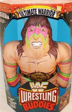 WWF Wrestling Buddies - The Ultimate Warrior!