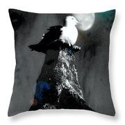 On Top Of The World  Throw Pillow by Fine Art By Andrew David