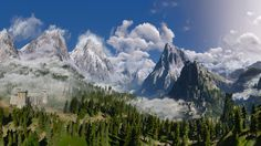 Kaer Morhen Valley