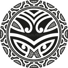Illustration of Traditional Maori Taniwha tattoo design vector art, clipart and stock vectors. Tattoo Band, Hawaiianisches Tattoo, Samoan Tattoo, Thai Tattoo, Tattoo Pics, Armband Tattoo, Tattoo Images, Maori Designs, Polynesian Tattoo Designs