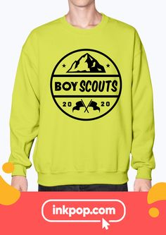 Customize your Scouts T-Shirt. Whatever your crew needs to look their best, we have it! Boy Scout Shirt, Boy Scout Uniform, Service Club, Custom Printed Shirts, School Clubs, Boy Scouts, Free Design, Shirt Designs, Sweatshirts