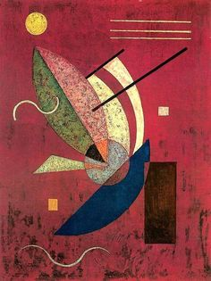 Wassily Wassilyevich Kandinsky was an influential Russian painter and art theorist. He is credited with painting one of the first purely abstract works. Abstract Words, Abstract Art, Abstract Landscape, Art Kandinsky, Wassily Kandinsky Paintings, Art Et Illustration, Russian Art, Pics Art, Art And Architecture