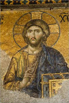 Byzantine mosaic: Pantocrator