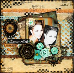 Marion Smith Papers - Zarza Laser Chipboard - Prima Marketing Flowers