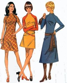 Vintage 70s Sewing Pattern McCalls 2476 Retro by sandritocat, $11.00