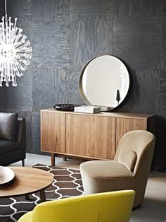 amazing ikea stockholm 2013 collection walnut mirror use of mirror pinterest ikea. Black Bedroom Furniture Sets. Home Design Ideas