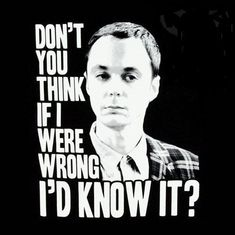 Dr. Sheldon Cooper from the Big Bang Theory is my hero because he is resolute in his thinking.  Of course, it helps when you are a Caltech theoretical physicist!  He is also willing to share his knowledge - a fact that unites most of my heroes.