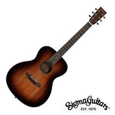 Sigma SF15SHB Folk Acoustic Guitar with Bag