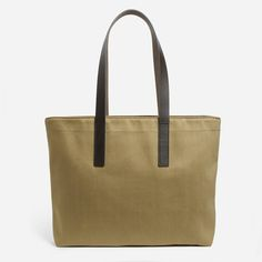 The Twill Zip Tote - Everlane