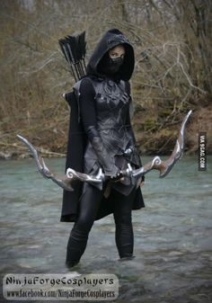 Skyrim Nightingale cosplay