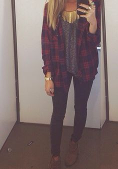 Dressed up flannel
