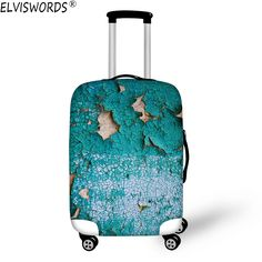 Fashion Travel Cute Panda Gifts Green Luggage Suitcase Protector Washable Baggage Covers