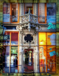 Shop Entrance in Budapest