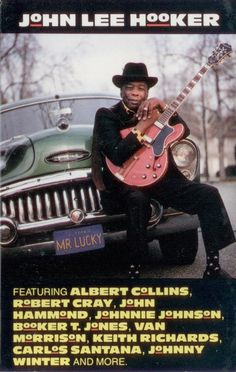 Lucky (Cassette, Album) for sale Van Morrison Albums, Albert Collins, Johnny Lee, Greatest Album Covers, Virgin Records, John Lee Hooker, Booker T, Great Albums, Keith Richards