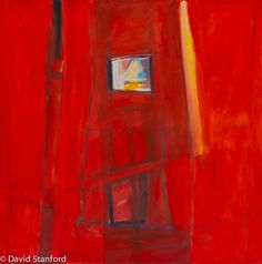 """View From Inside the Inferno"" - oil painting by David R. Standford"