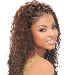 Wet And Wavy Weave Hairstyles Milky Way Wet Amp Wavy Tempo