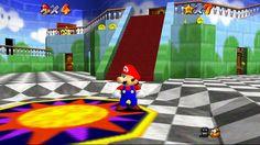 Mario sur Nintendo 64