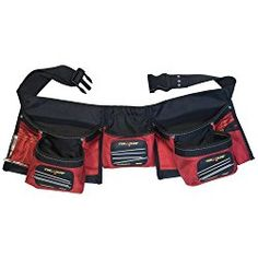 Keep nails and metal hand tools from scattering or dropping to the floor with the MagnoGrip Magnetic Carpenter's Tool Apron. The nail pocket is magnetized inside and outside and the apron features 12 pockets for storing and accessing tools easily. Carpenter Tool Belt, Carpenter Tools, Belt Storage, Tool Storage, Storage Systems, Garage Storage, Best Tool Belt, Electrician Tool Belt, Tool Apron