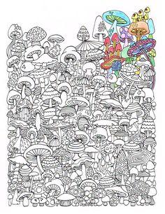 Página para colorear adultos setas Imprimir por CandyHippie