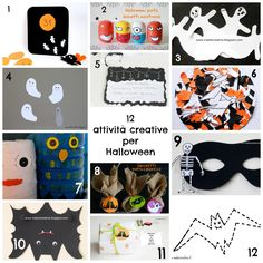 Halloween: 12 crafts for kids