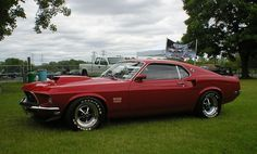 1969 Boss 429. Best muscle car ever? #ClassicNation