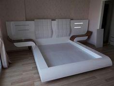 Bedroom False Ceiling Design, Bedroom Bed Design, Bedroom Furniture Design, Home Room Design, Bed Furniture, Modern Bedroom, Dressing Table Design, Interior Work, Closet Designs