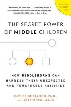 The Secret Power of Middle Children: How Middleborns Can Harness Their Unexpected and Remarkable Abilities by Catherine Salmon Ph.D.