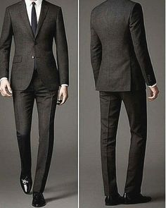 Ideas For Moda Masculina Terno Preto Gentleman Mode, Gentleman Style, Costumes Slim, Super Moda, Terno Slim, Style Costume Homme, Mode Costume, Designer Suits For Men, Men's Suits