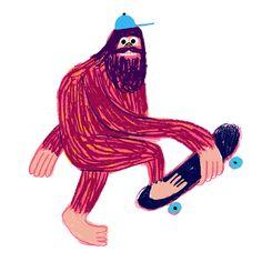 Посмотрите путеводитель по странному, страшному и чудесному миру монстров и древних мифических существ. Его создал Роб Ходжсон - британский иллюстратор.