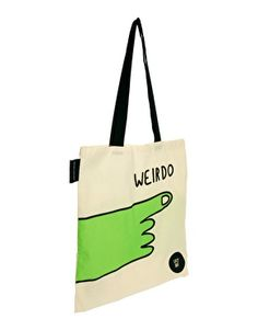 Enlarge Lazy Oaf Weirdo Tote Bag