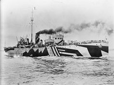 Dazzle camouflage (also known as Razzle Dazzle or Dazzle painting) was a military camouflage paint scheme used on ships, extensively during World War I and to a lesser extent in World War II