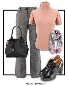Buon lunedì!  Scarpe:http://www.mecshopping.it/shop/scarpe/scarpe-donna/francesinedonna/francesina.html pullover:http://www.mecshopping.it/shop/donna/pulloverdonna/pullover-36111.html Borsa:http://www.mecshopping.it/shop/borse/donna/borse-a-mano/borsa-a-mano-47228.html Sciarpa:http://www.mecshopping.it/shop/accessori/donna/sciarpe/sciarpa-50082.html Pantaloni:http://www.mecshopping.it/shop/donna/pantaloni/pantalone-41805.html