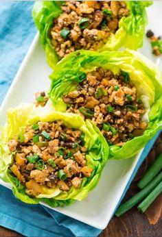 Vegetarian Lettuce Wraps Recipe | best recipes food