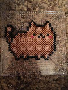 Cat Perler Beads  by eyelyi