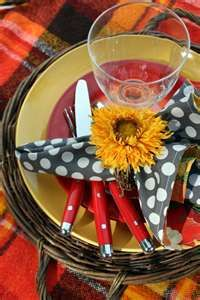 colorful tablescapes