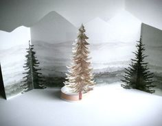 Twin Peaks Theatre  The Misty Mountains Scenery by CastleOnTheHill, $22.00