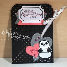 Stampin' Up! 2018 January paper pumpkin with party pandas
