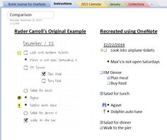 Law And Tablets: Bullet Journaling with the Power of OneNote