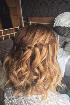 50 Newest Short Formal Hairstyles Ideas For Women Short Bob Hairstyles, Cute Hairstyles, Braided Hairstyles, Wedding Hairstyles, Cut My Hair, Love Hair, Hair Cuts, Hair Express, Wedding Hair Down