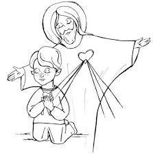 Znalezione obrazy dla zapytania jezus miłosierny kolorowanka