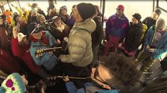 Cool mini-concert by Michael Franti. Thanks to @Jackson Hole Mountain Resort for sharing.
