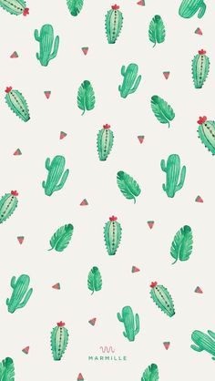 Wallpaper, cactus, and background image Phone Wallpaper Images, Modern Wallpaper, Kawaii Wallpaper, Aesthetic Iphone Wallpaper, Screen Wallpaper, Wallpaper S, Pattern Wallpaper, Aesthetic Wallpapers, Bedroom Wallpaper