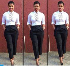 Corporate attire for Women Casual Work Attire, Classy Work Outfits, Business Casual Attire, Professional Outfits, Chic Outfits, Fashion Outfits, Fashion Ideas, Corporate Attire, Mode Style